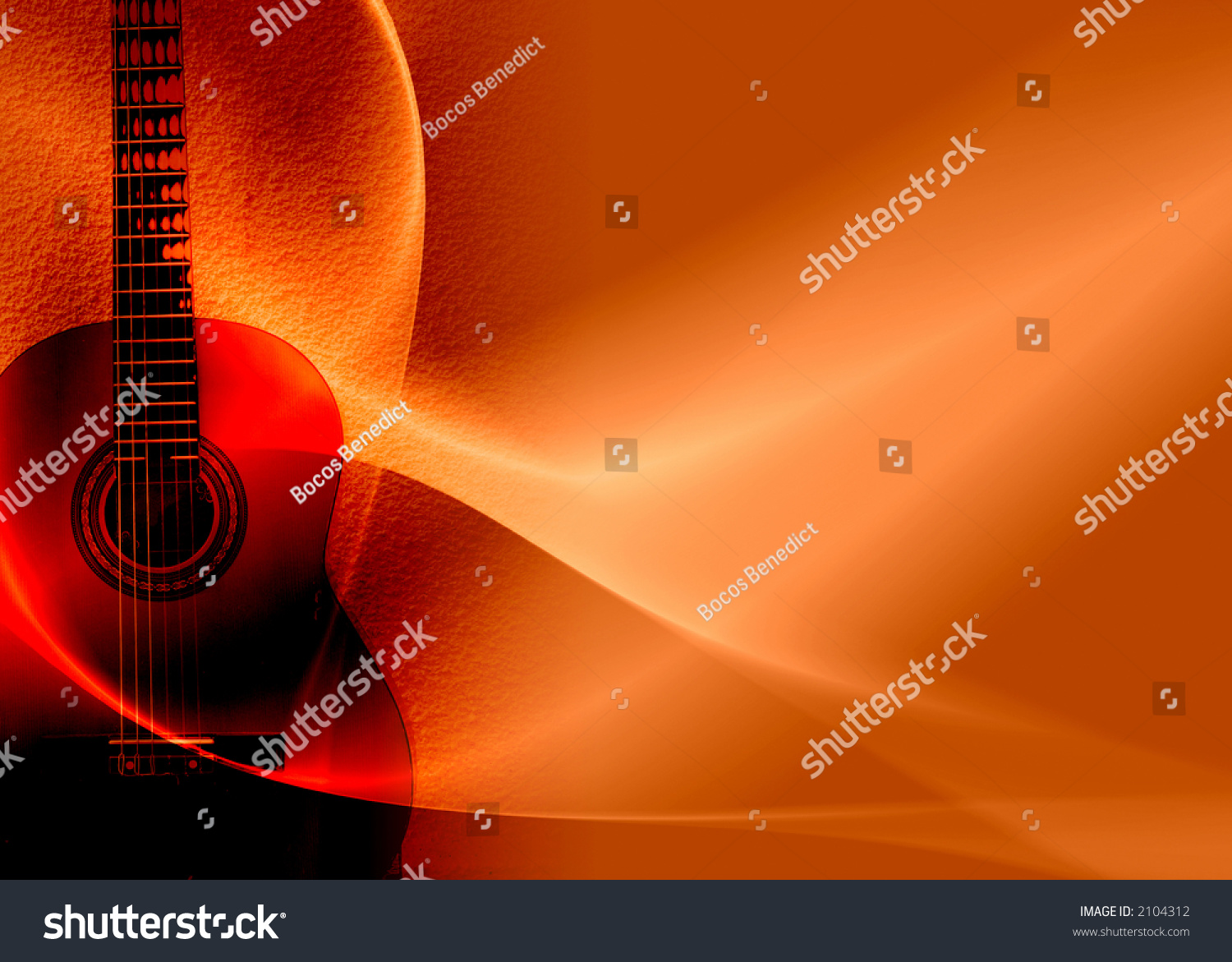 abstract guitar composition stock photo 2104312 shutterstock. Black Bedroom Furniture Sets. Home Design Ideas