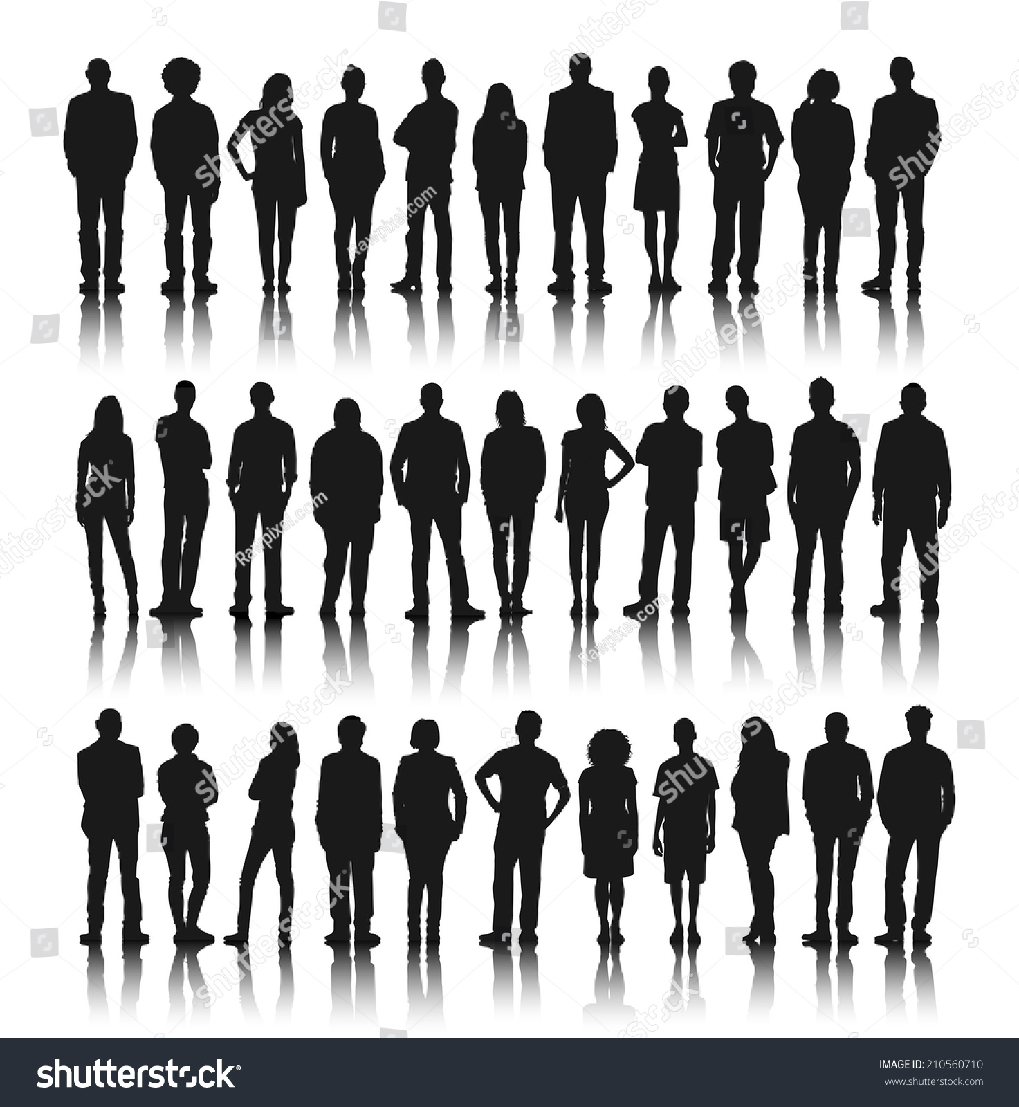 stock-vector-silhouette-group-of-people-