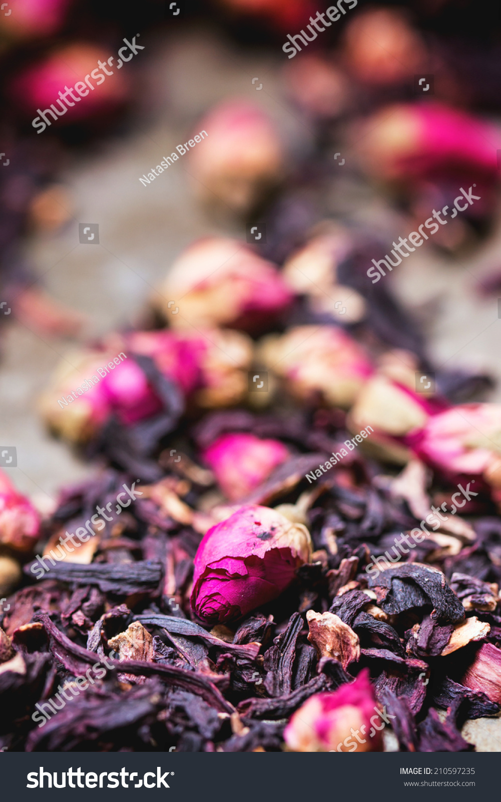 Heap tea roses dried hibiscus flower stock photo 210597235 heap of tea roses and dried hibiscus flower izmirmasajfo