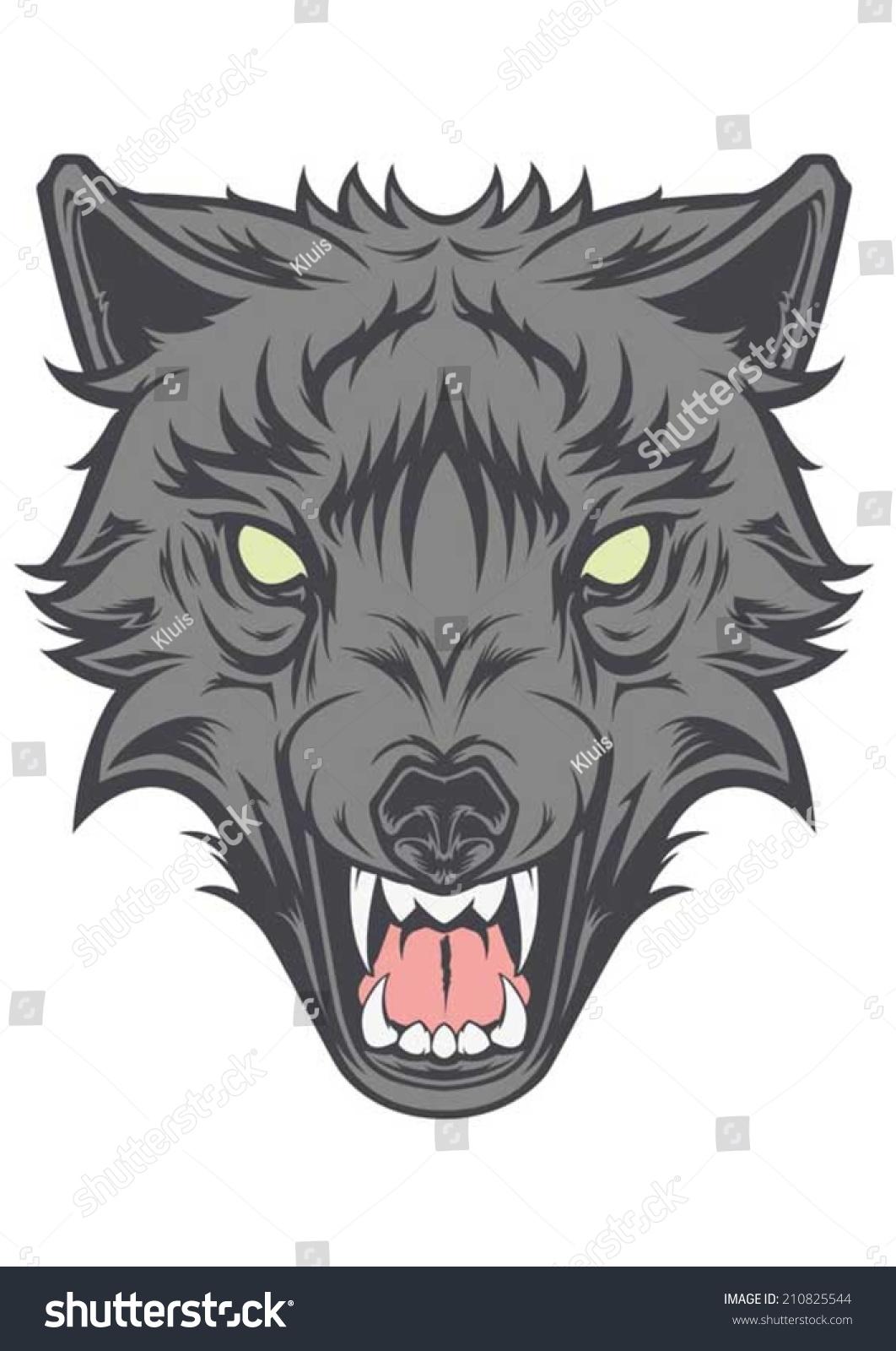 Evil Wolf Face Evil Wolf Face