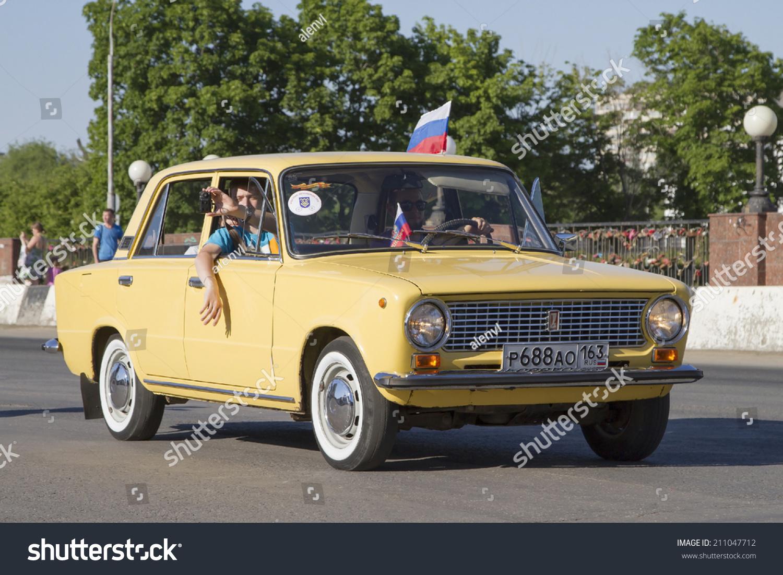 TOGLIATTI RUSSIA JUNE 1 Parade Old Stock Photo (100% Legal ...
