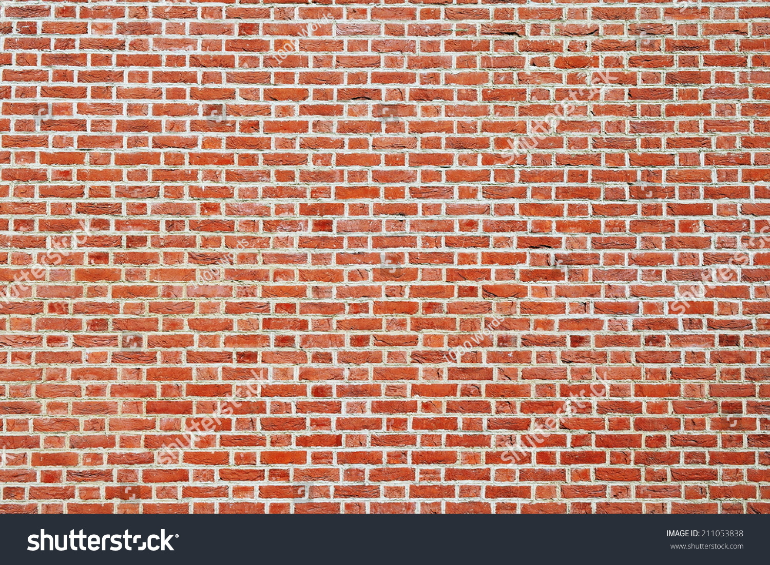 New red brick wall building exterior background with for Exterior background