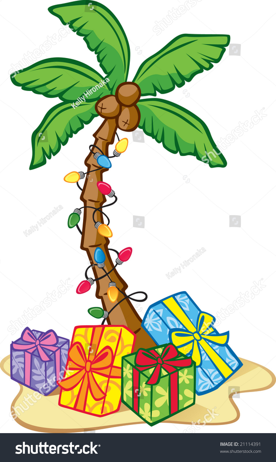 free clip art hawaiian christmas - photo #22