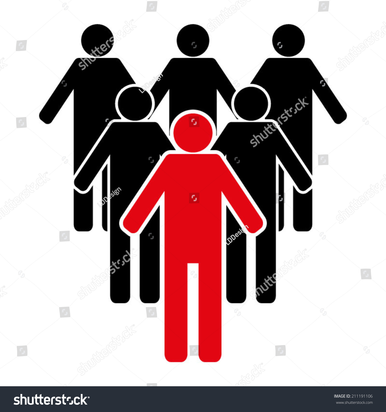 team leader icon stock vector shutterstock team leader icon