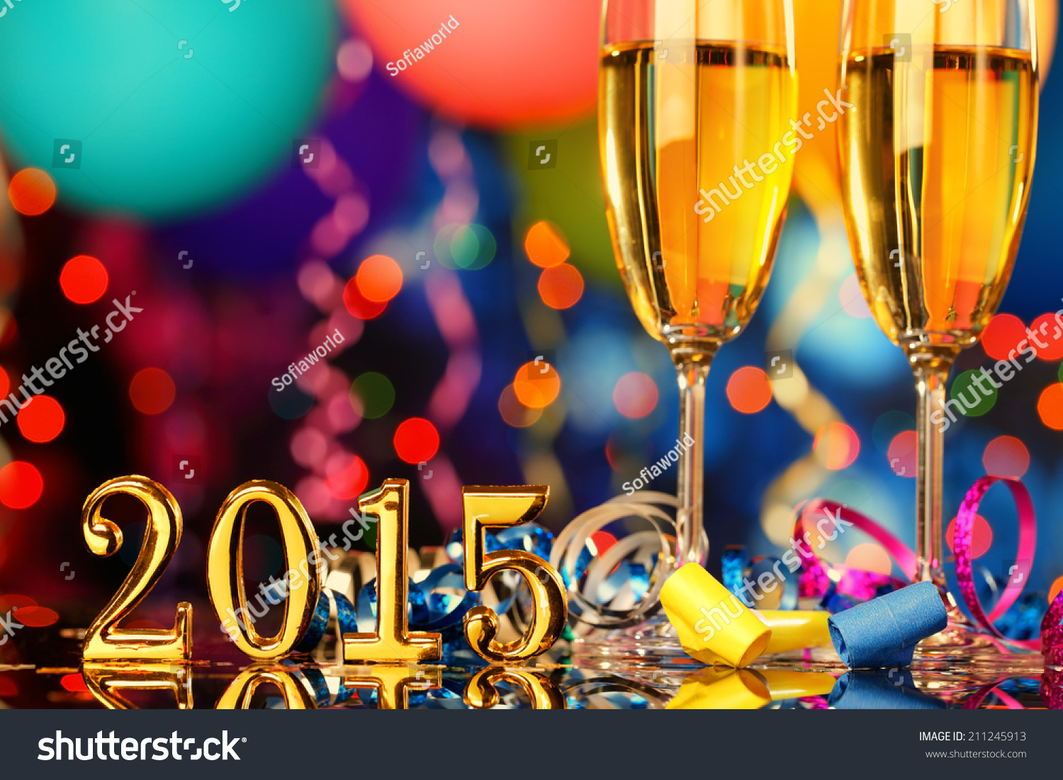 New year party decoration stock photo 211245913 shutterstock for 15 years party decoration