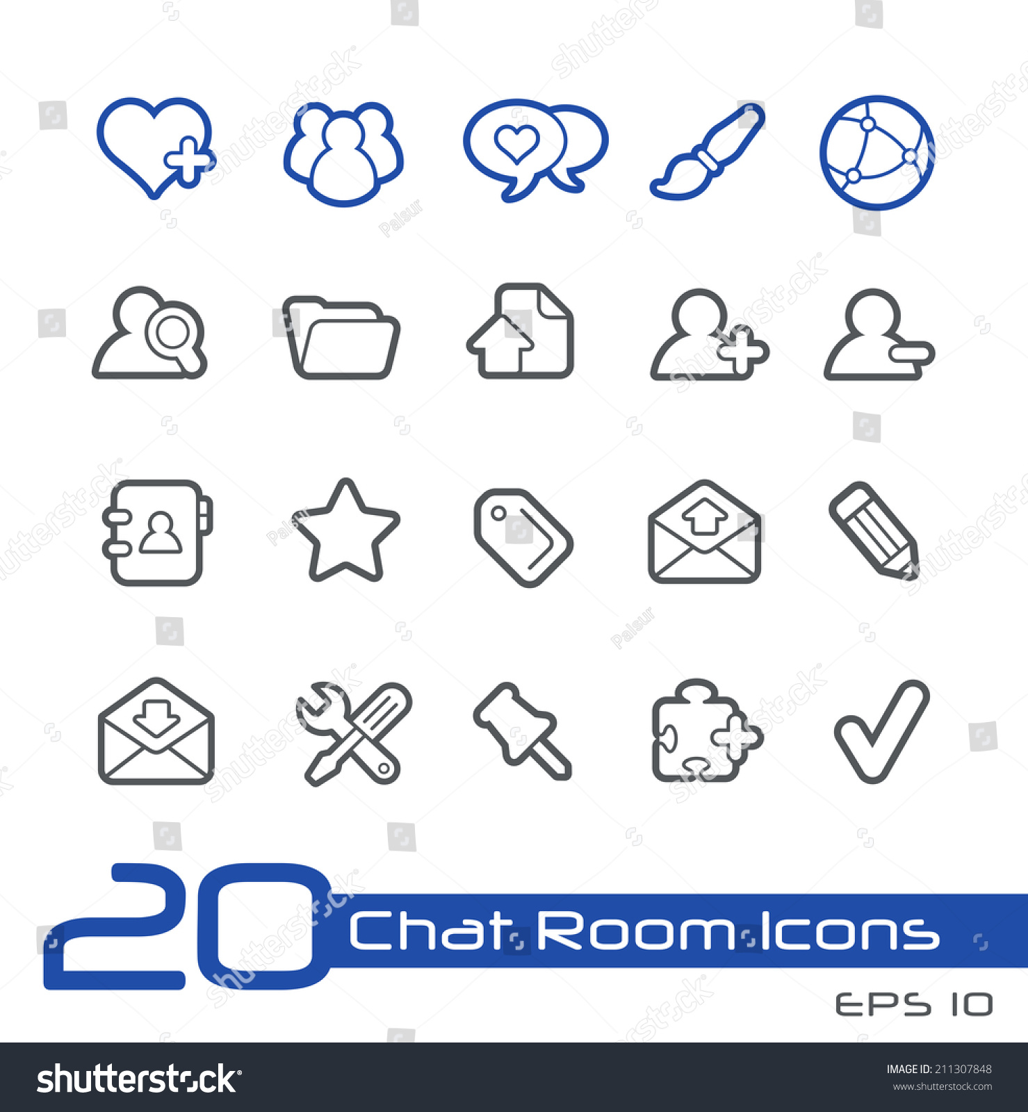 guys chat room icon