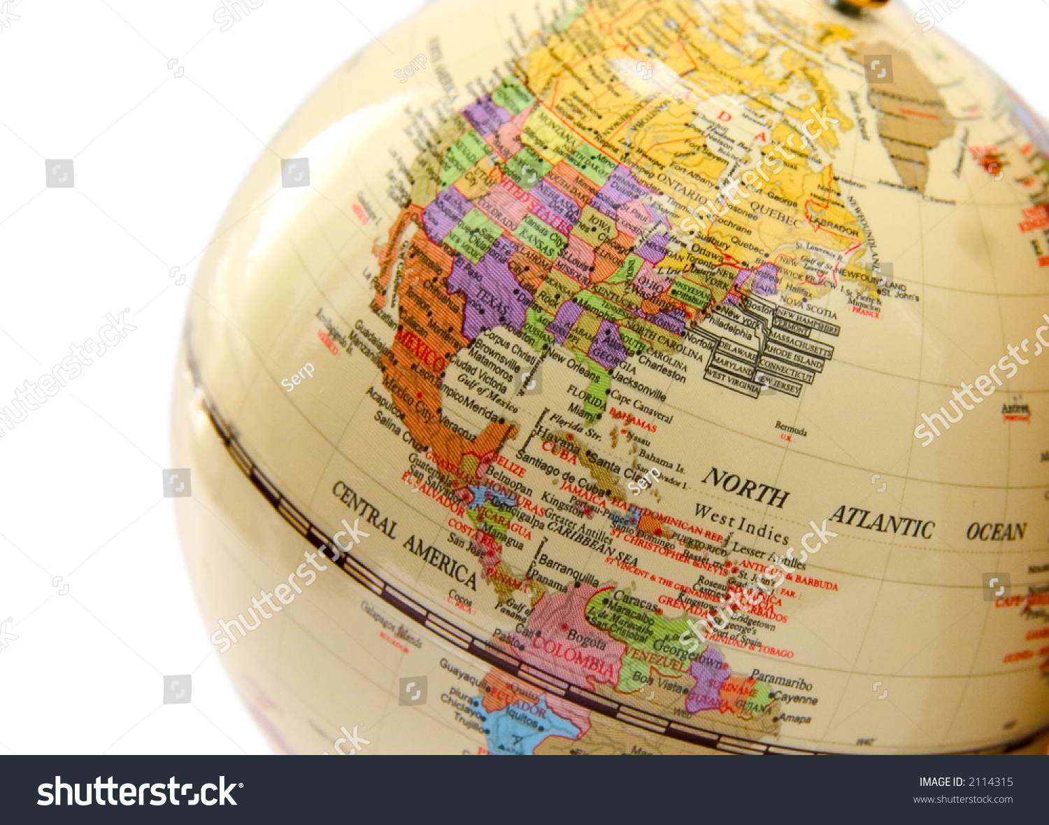 Map Of USA Canada Mexico TomTom Map Maps Globe Globes North Map - Usa canada mexico map