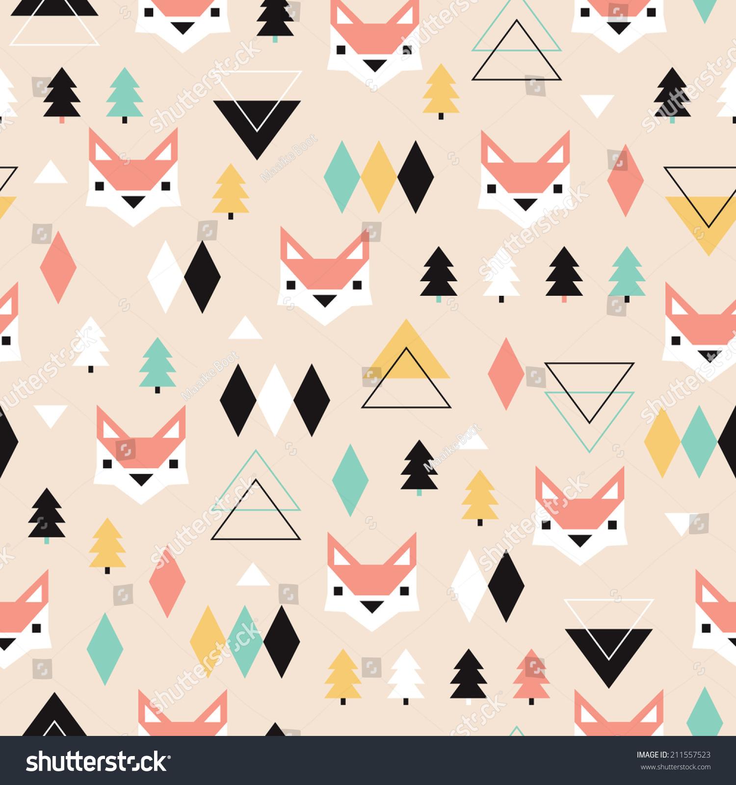 Fox Shape Template, Crafts