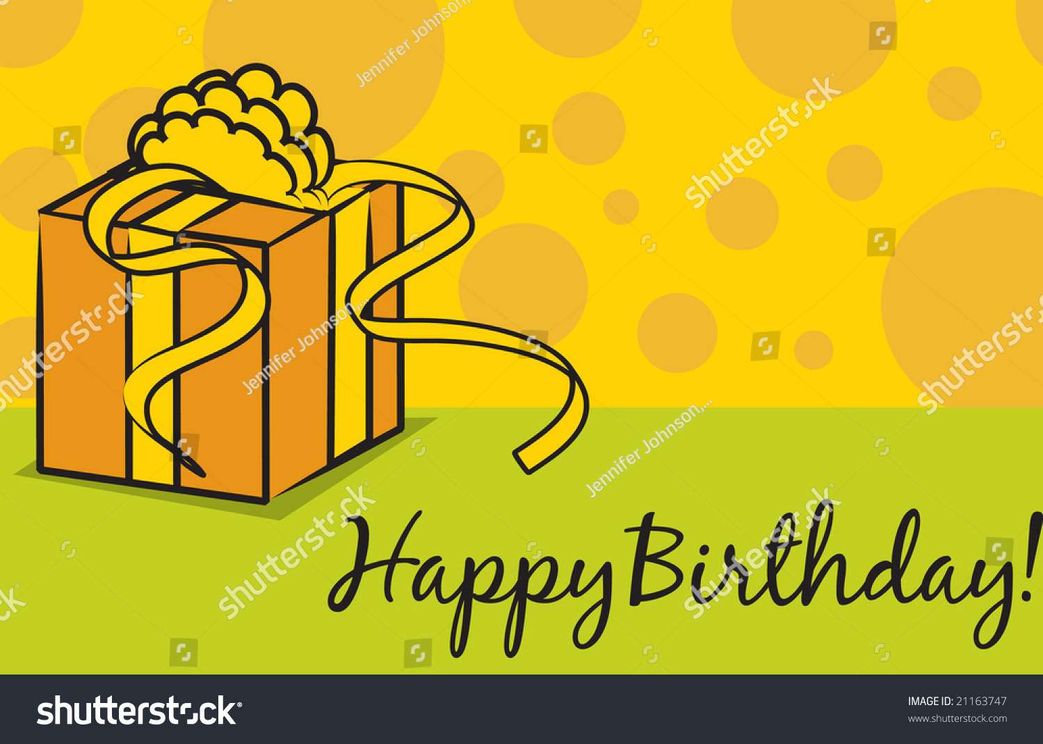 Vector Birthday Greeting Card Layout Happy Vector 21163747 – Birthday Card Layout