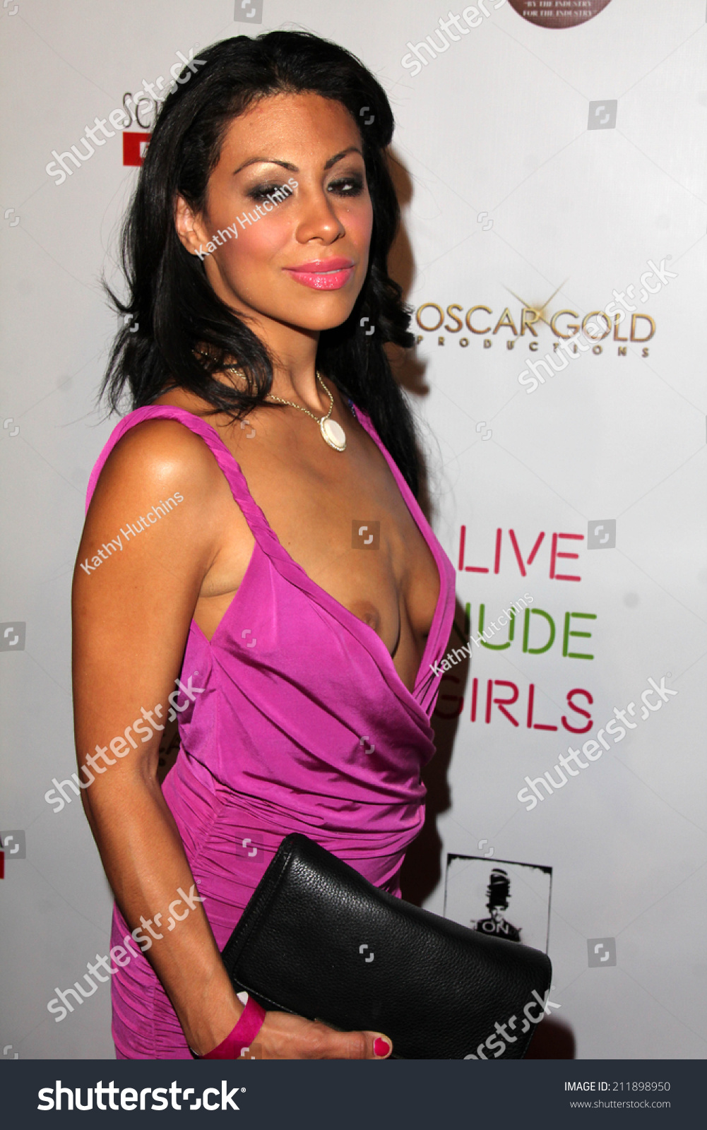 Los Angeles Aug 12 Cassandra Cruz At The Live Nude Girls Los