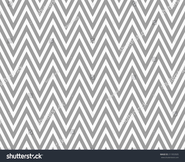Gray White Zigzag Textured Fabric Pattern Stock Illustration ...