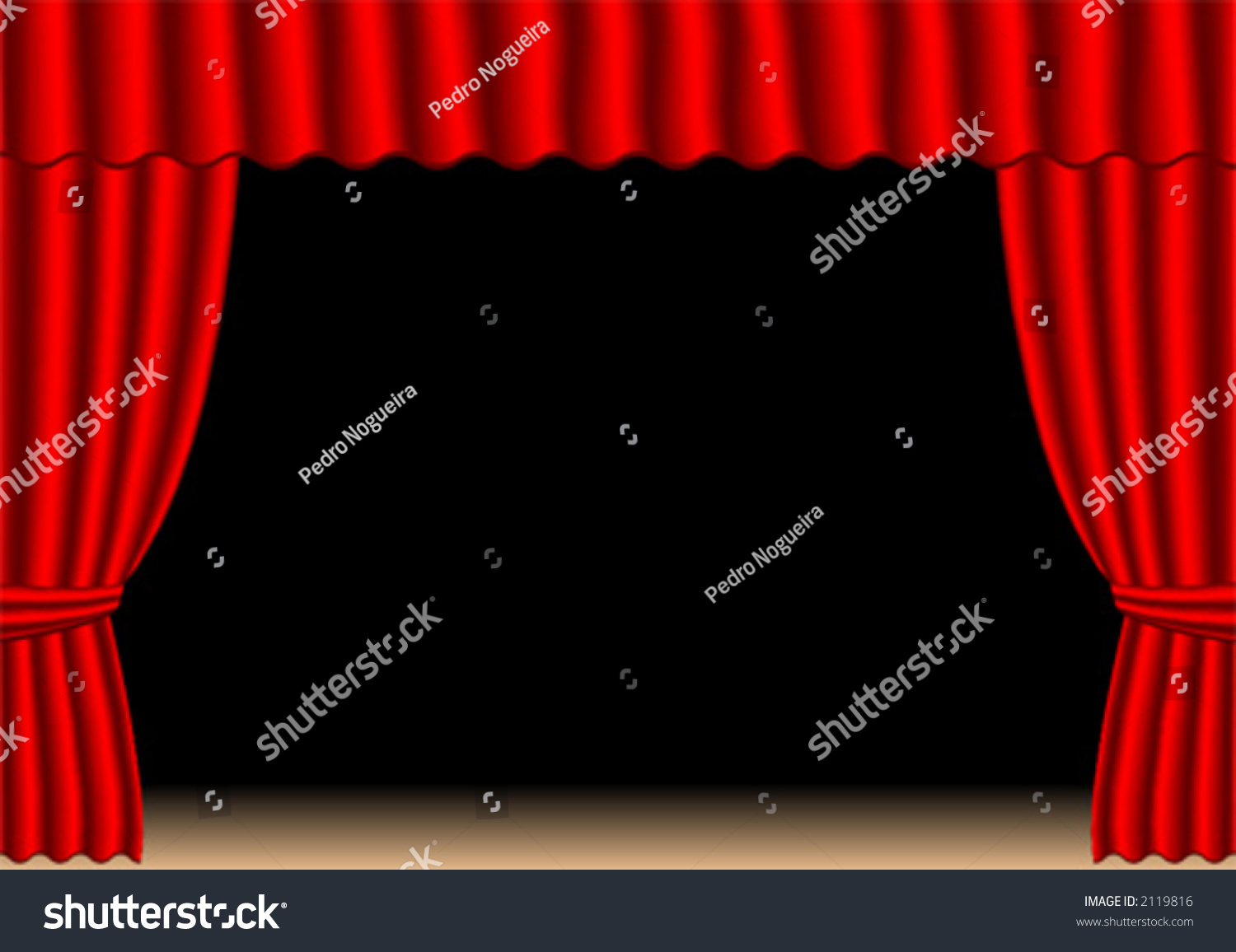 Black stage curtains black stage curtain - Old Fashion Theater Curtains Over Stage And Black Background