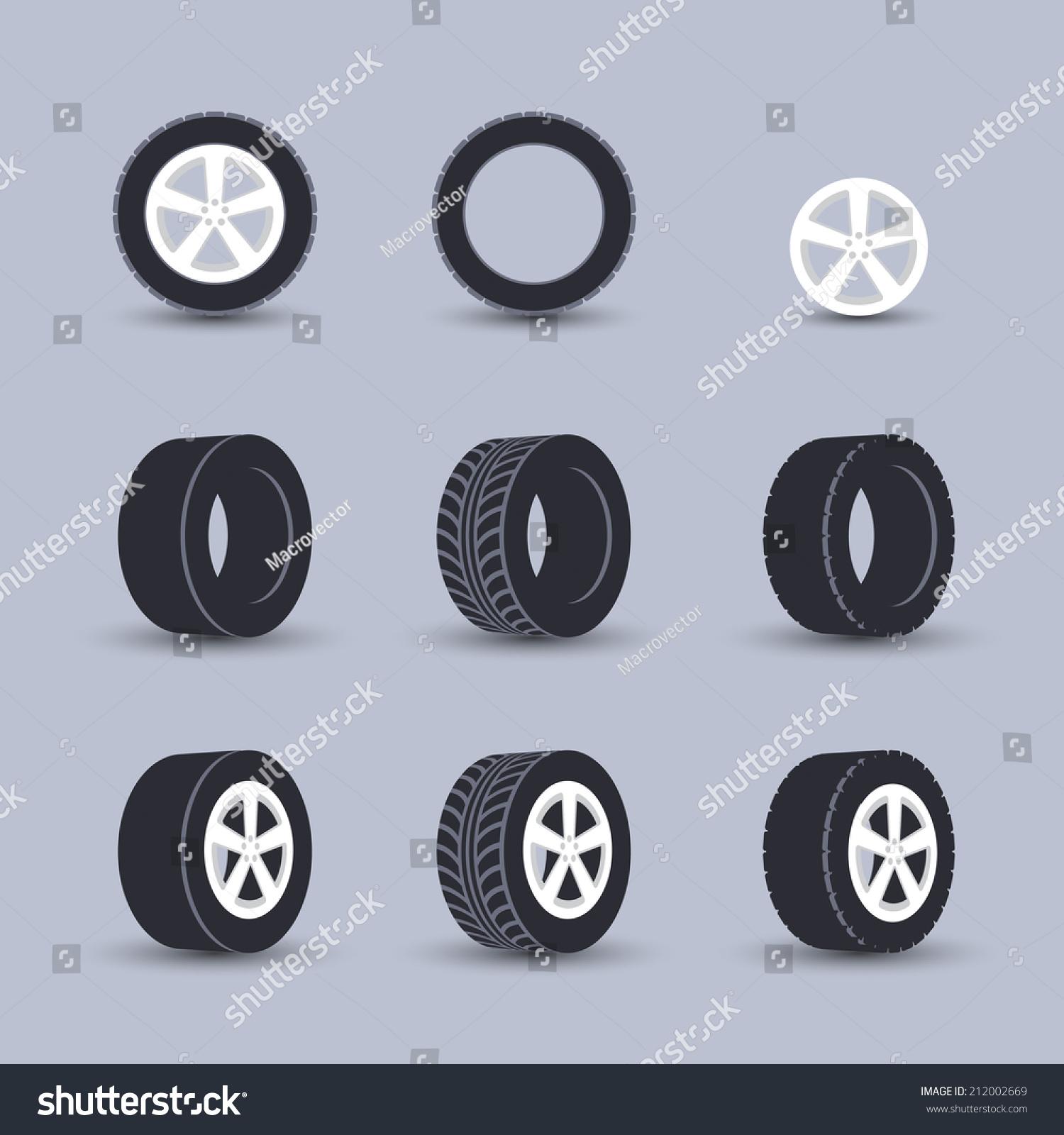 Auto garage wheels disk montage and installation winter for Montage piece auto garage