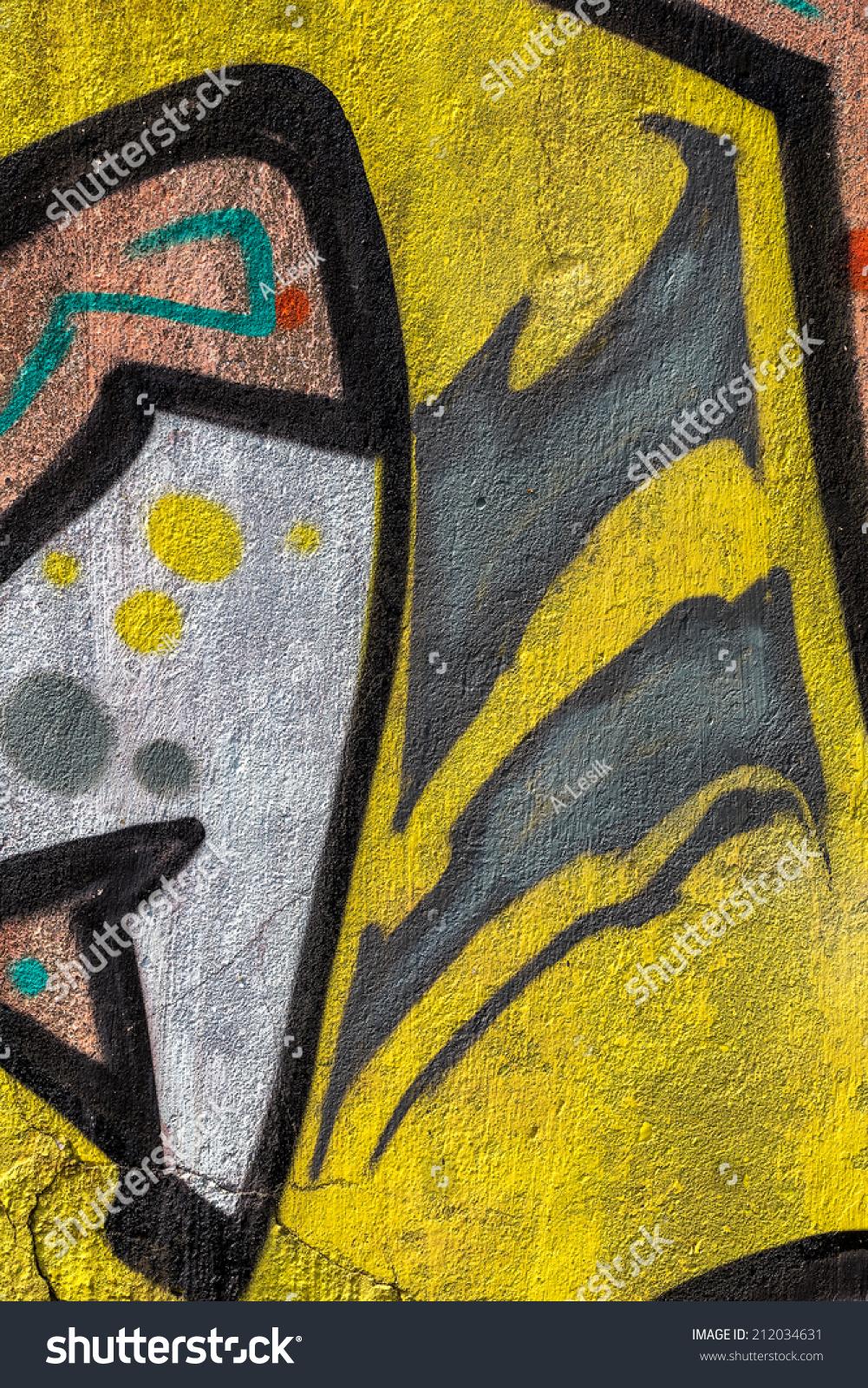 Beautiful Street Art Graffiti Abstract Creative Stock Photo (Edit ...