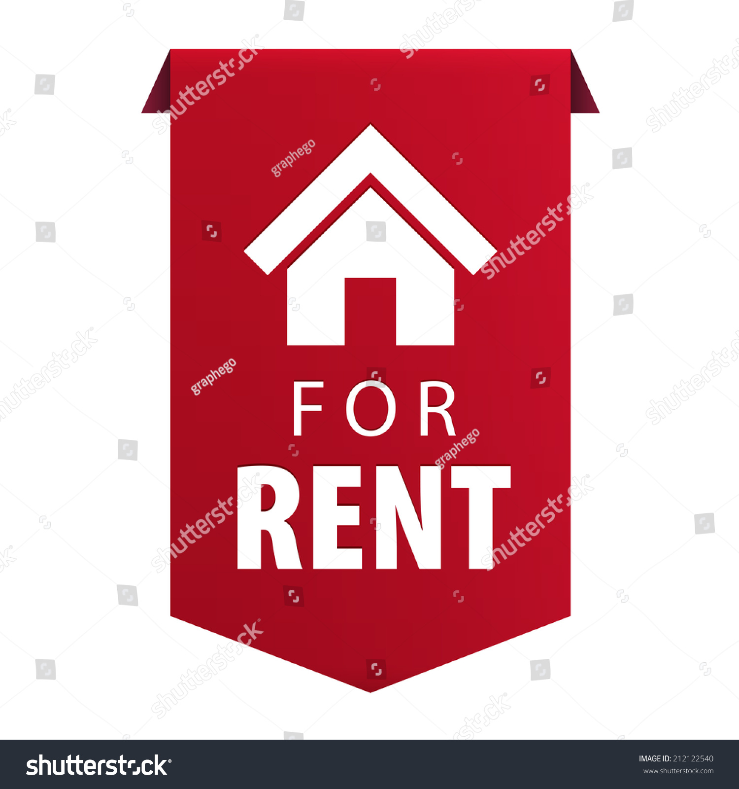 Rent ribbon banner icon real estate stock illustration 212122540 for rent ribbon banner icon real estate symbol isolated on white background illustration biocorpaavc Image collections