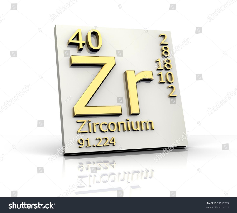 Zirconium form periodic table elements stock illustration 21212773 zirconium form periodic table of elements gamestrikefo Images
