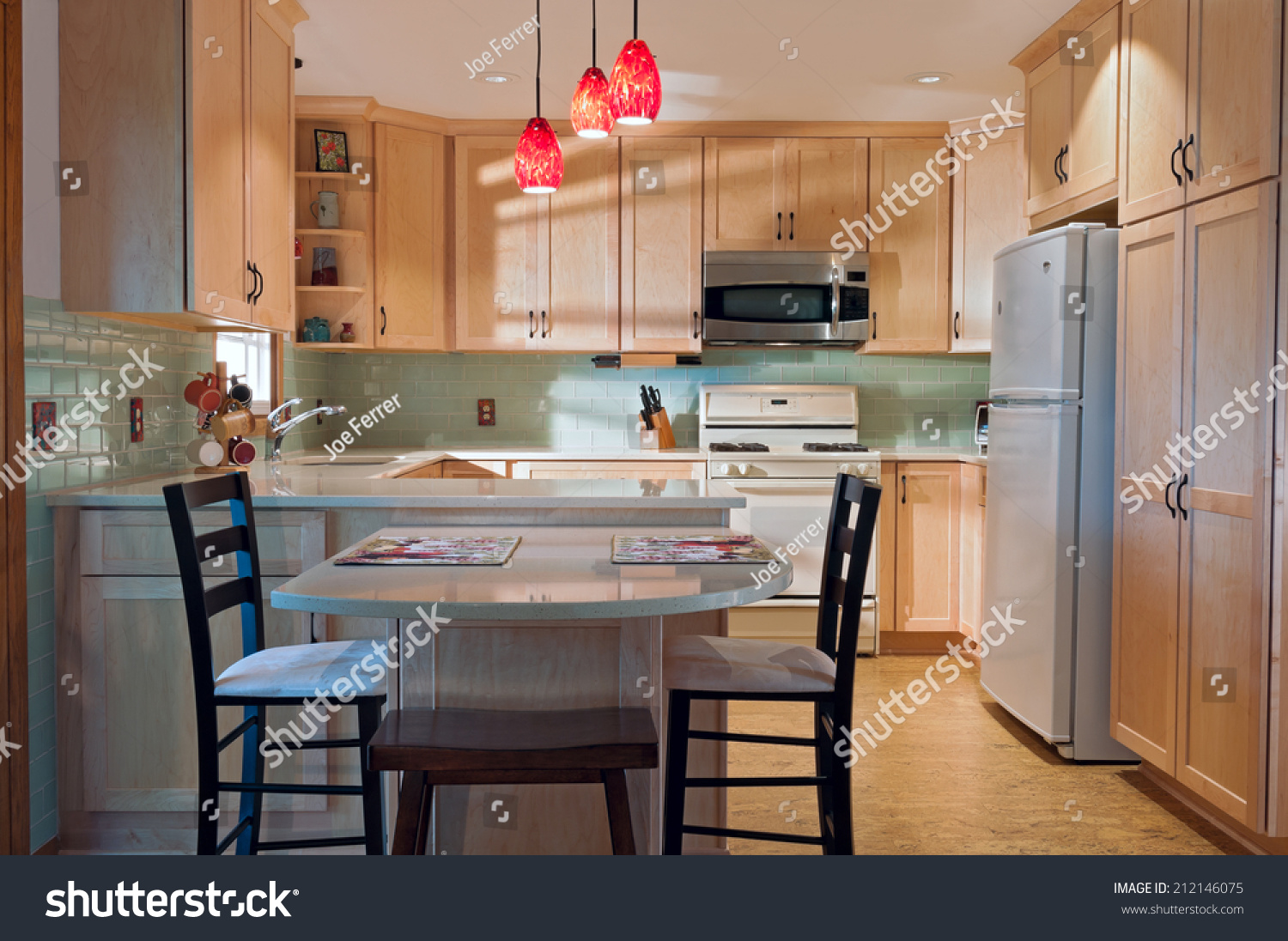 - Newly Remodeled Kitchen Interior Cork Floors Stock Photo (Edit Now