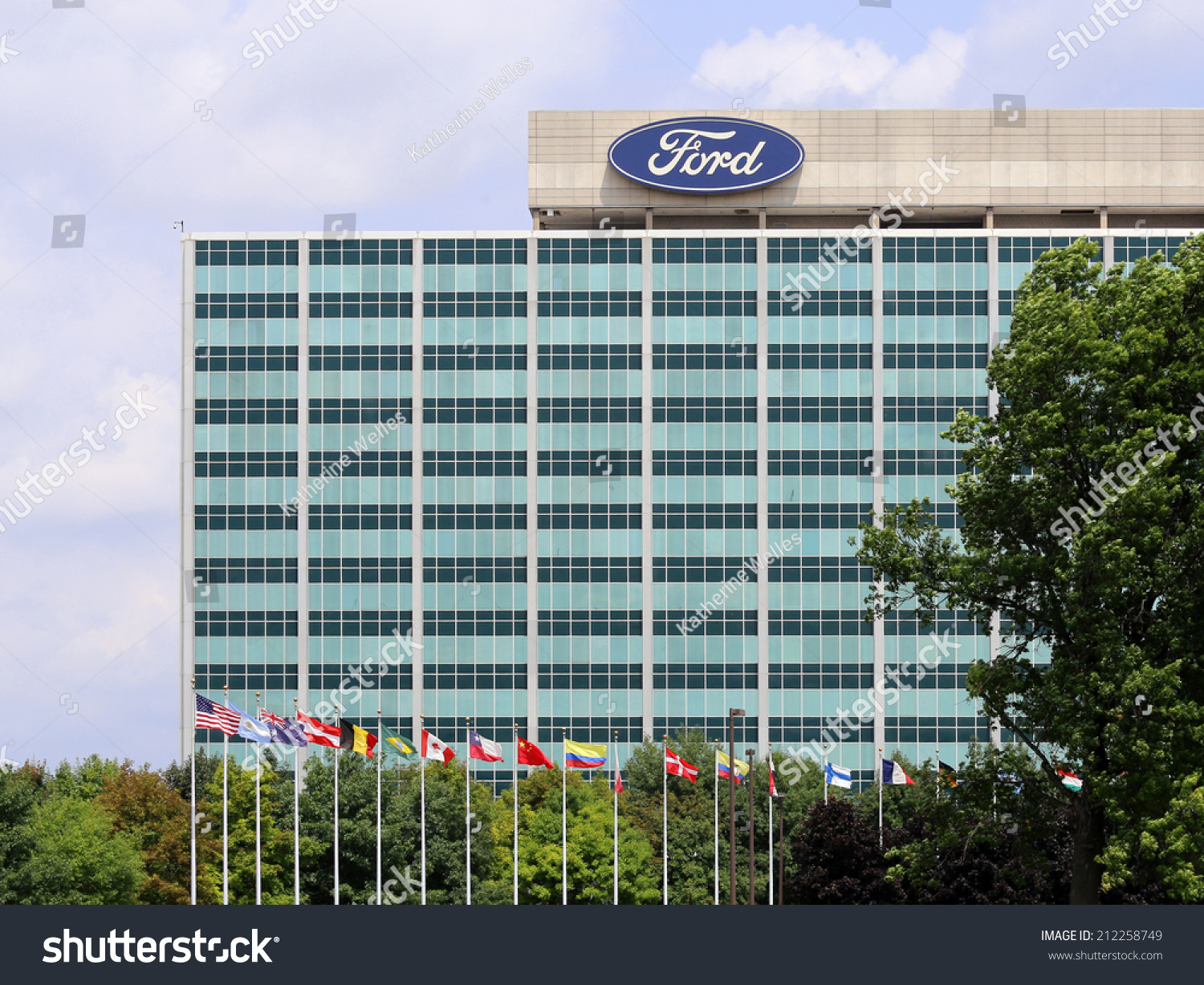 Dearborn mi july 31 the ford motor company world for Ford motor company corporate