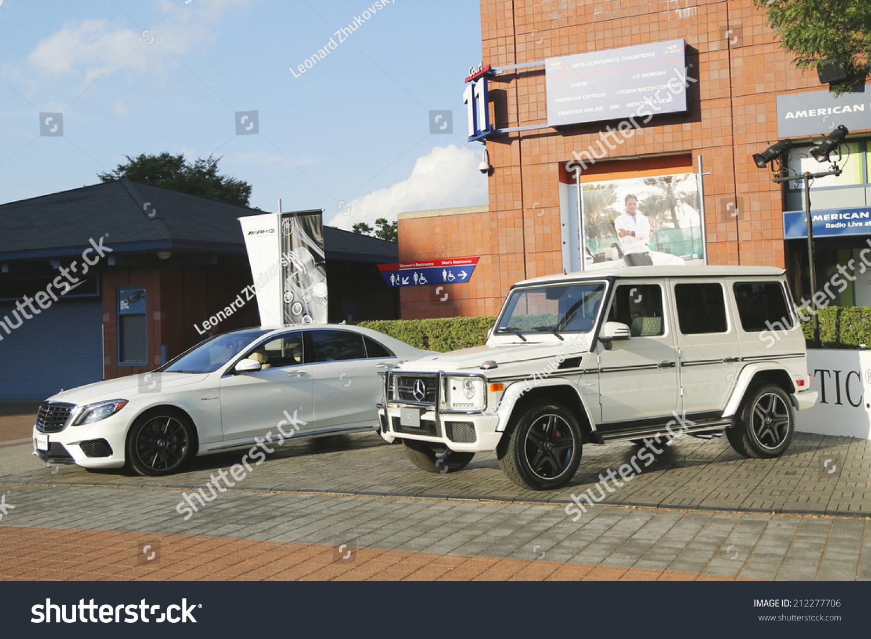 New York August 19 Mercedes Benz Stock Photo (Edit Now