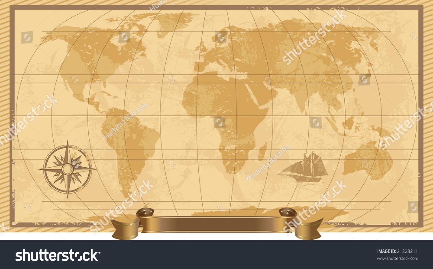 Grunge rustic world map illustration stock illustration 21228211 a grunge rustic world map illustration gumiabroncs Images