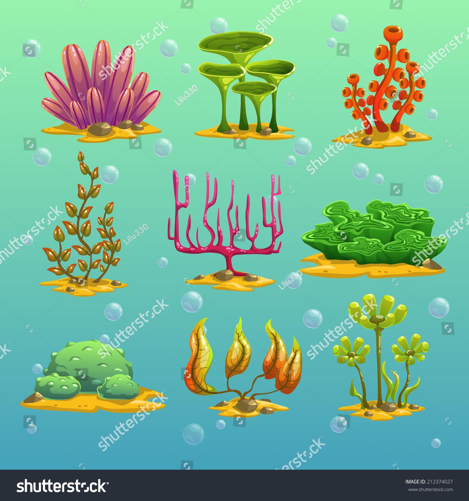 Underwater plant cartoon galleryhip com the hippest galleries