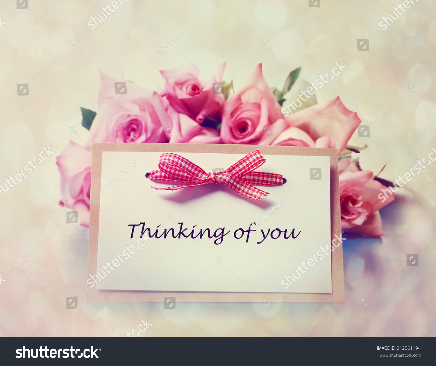 Thinking you greeting card roses stock photo royalty free thinking you greeting card roses stock photo royalty free 212561194 shutterstock m4hsunfo