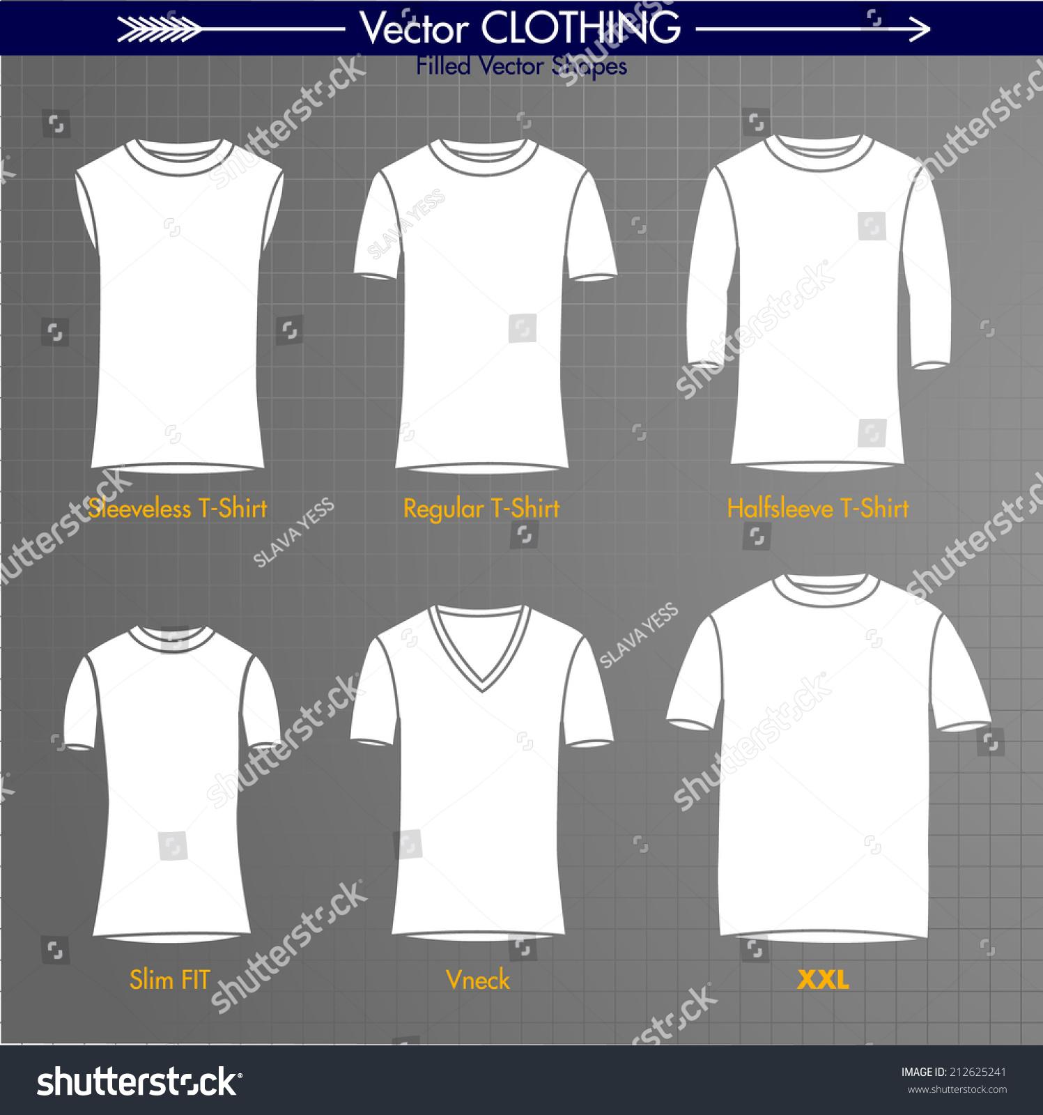 T Shirt Collection Sleeveless Regular Long Sleeve Slim