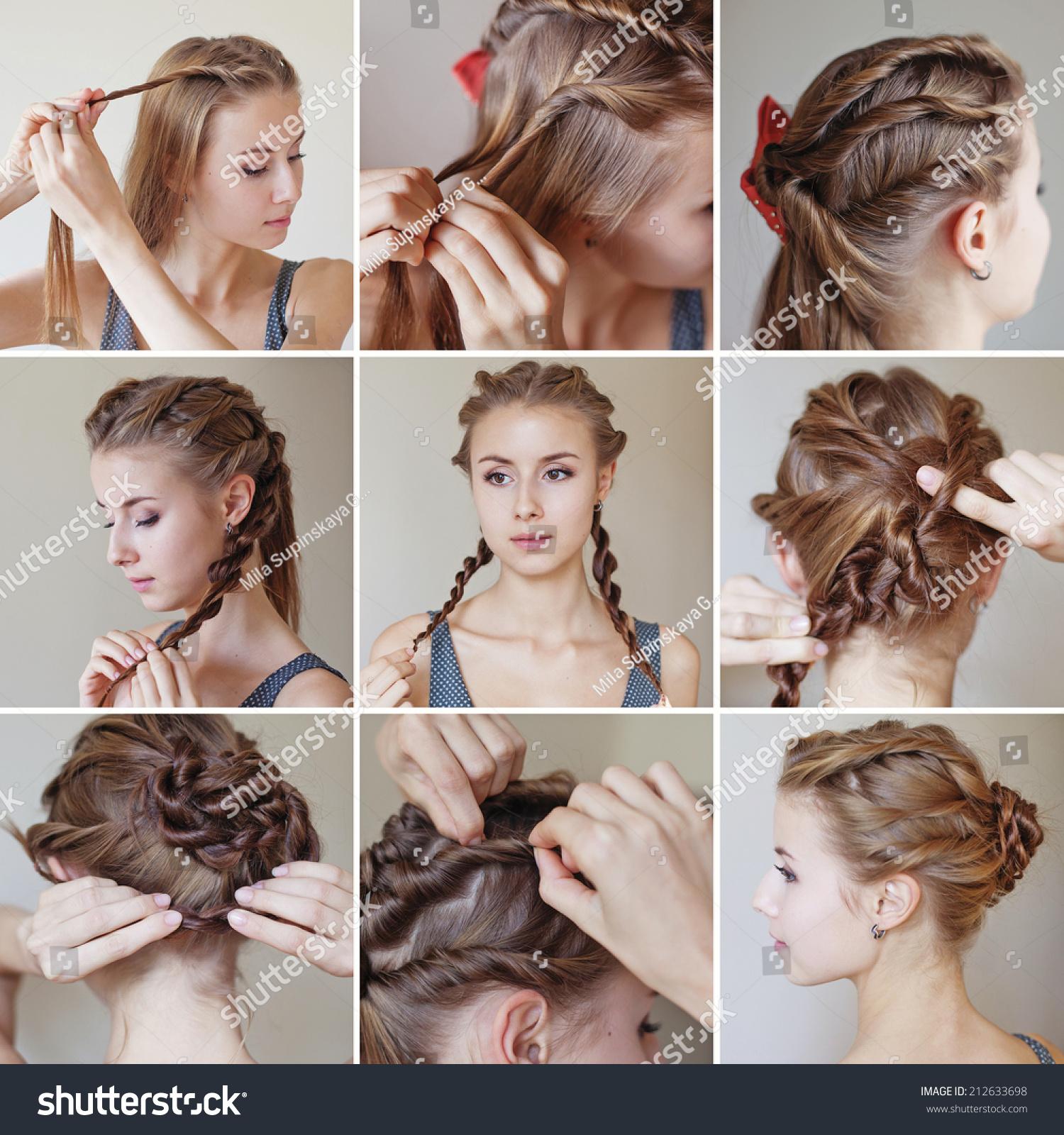Простые прически на длинные волосы ютуб
