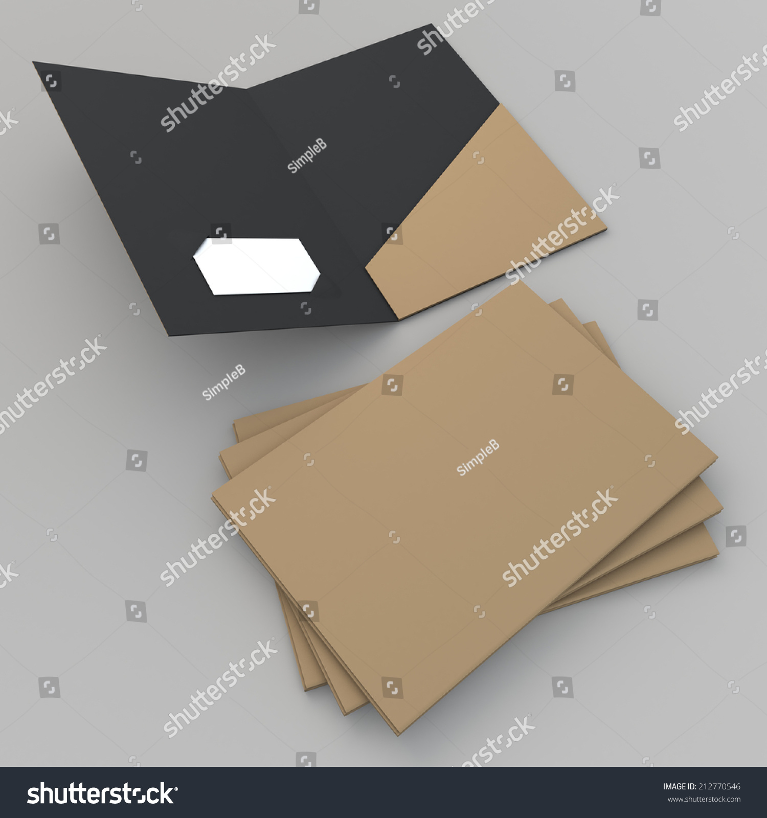 3d render original brown matte black stock illustration