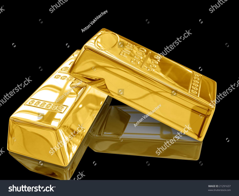 gold bar black background - photo #20