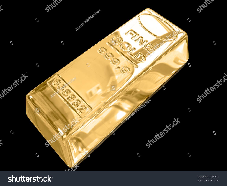 gold bar black background - photo #16