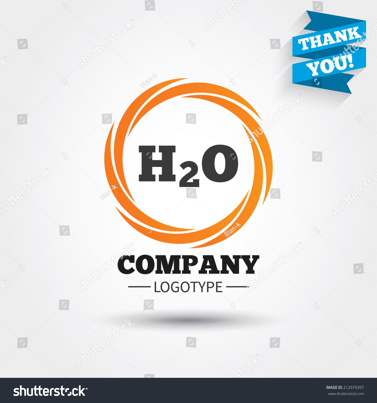 H2o water formula sign icon chemistry stock vector 212979397 h2o water formula sign icon chemistry symbol business abstract circle logo logotype with buycottarizona Choice Image