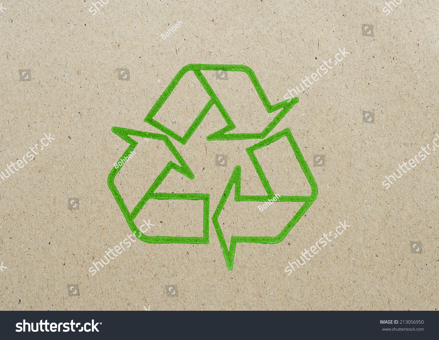 Recycle symbol on recycle paper stock photo 213056950 shutterstock recycle symbol on recycle paper buycottarizona