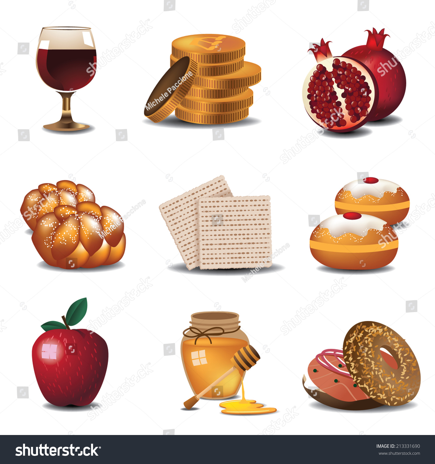 food baskets clipart