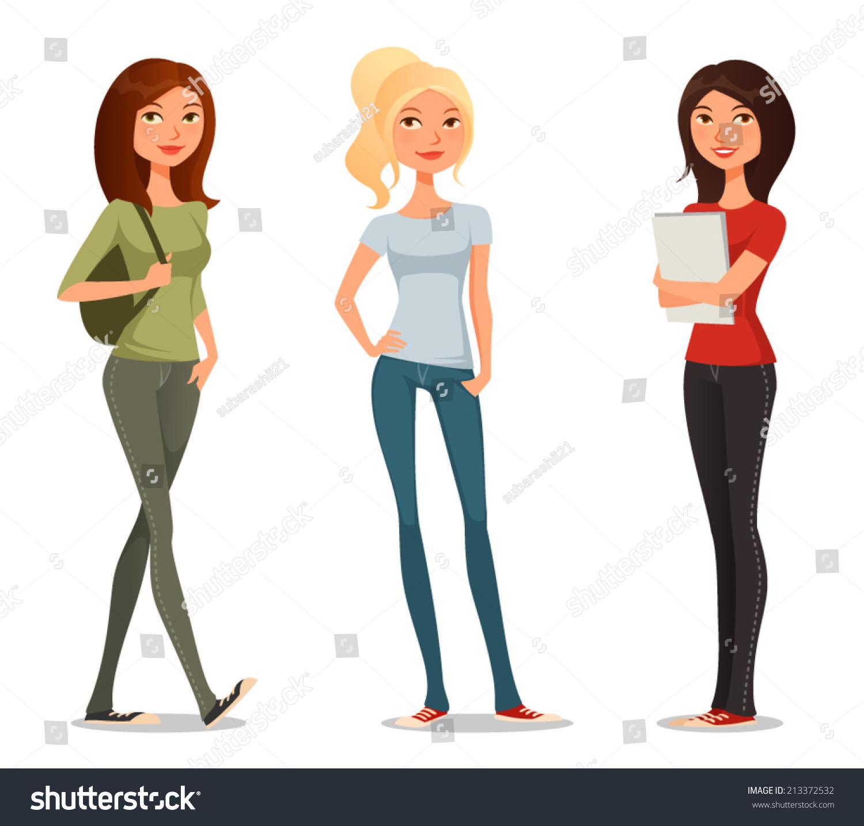 Student Teen Teens Ladies 86