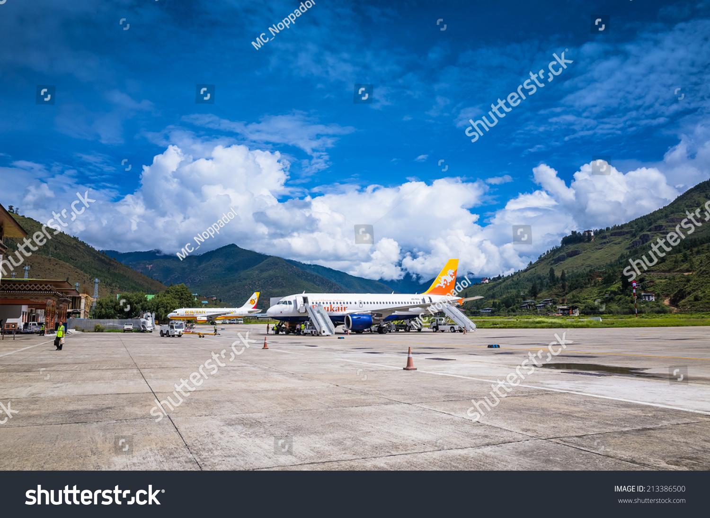 Paro Bhutan Aug 17 2014 People Stock Photo Edit Now 213386500
