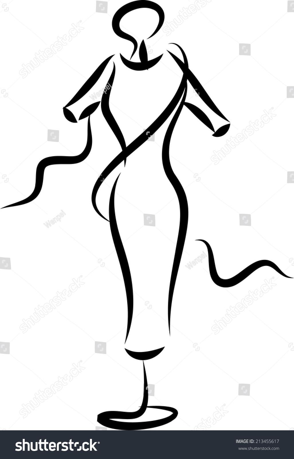 Vector Fashion Design Logo Stock Vector 213455617