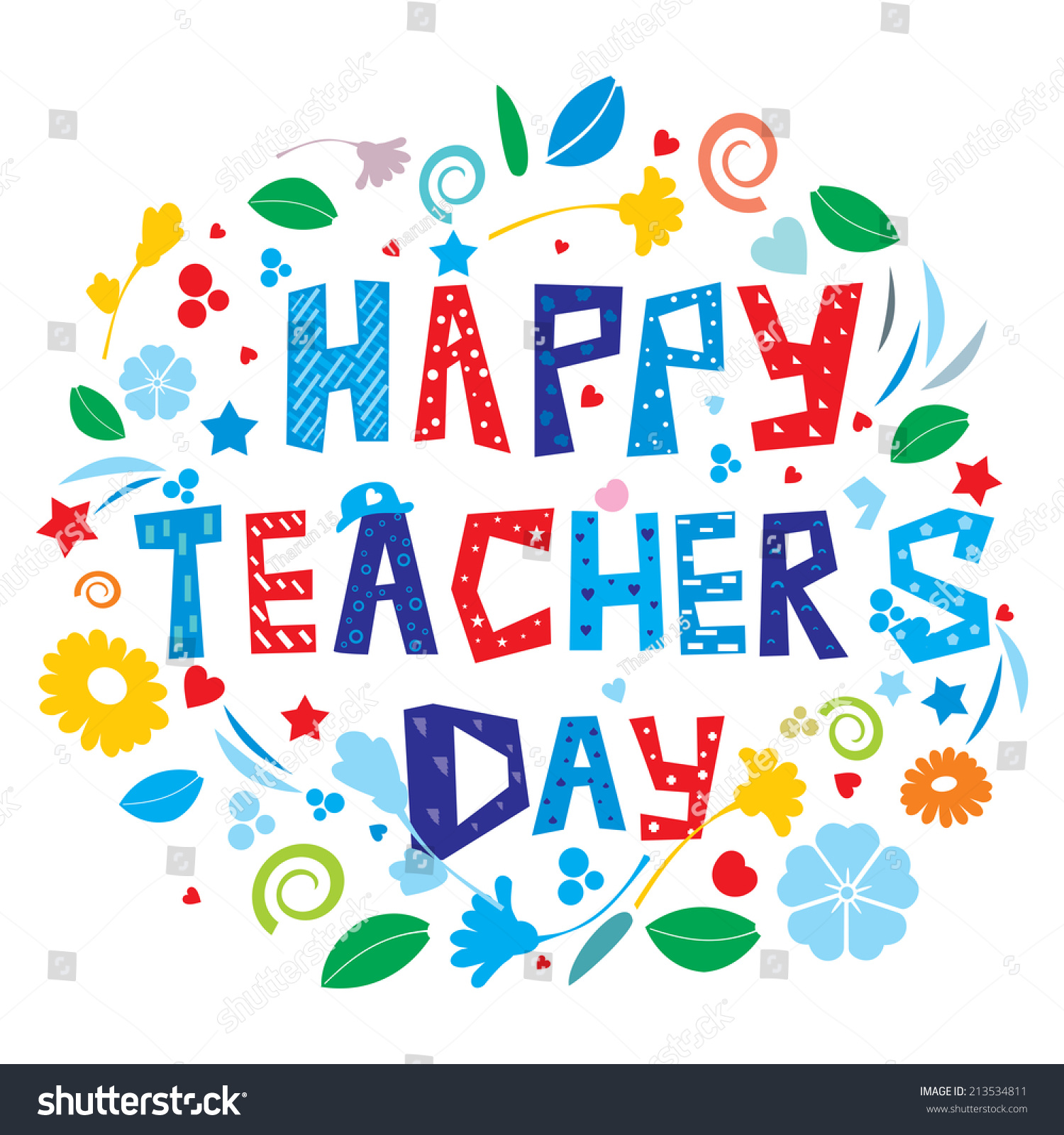 Happy teachers day stock illustration 213534811 shutterstock happy teachers day altavistaventures Choice Image