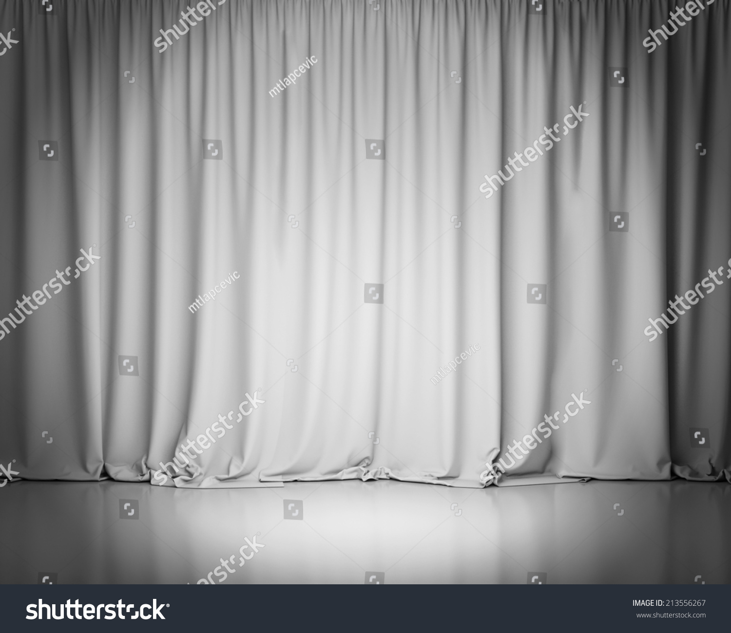 Black and white stage curtain - White Stage Curtain Background
