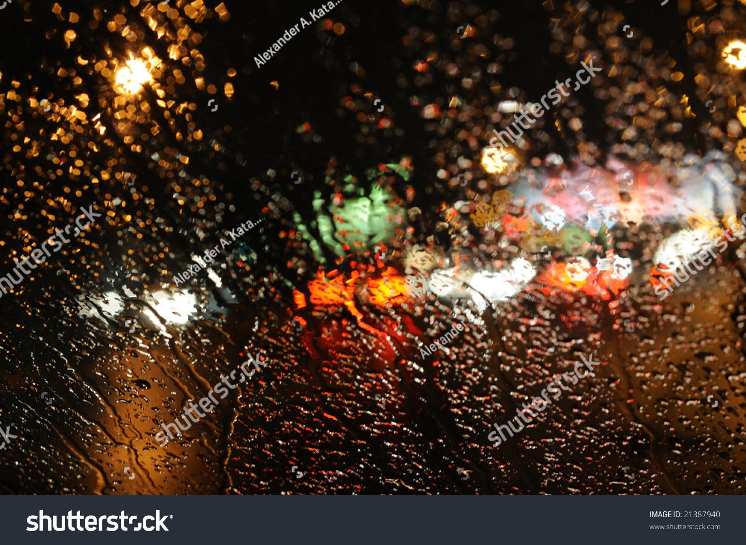 inside the car night rain and town lights background stock photo 21387940 shutterstock. Black Bedroom Furniture Sets. Home Design Ideas