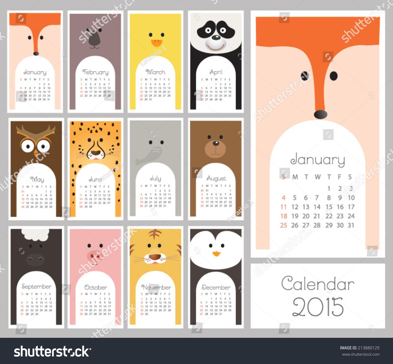 Calendar Illustration : Calendar vector illustration shutterstock