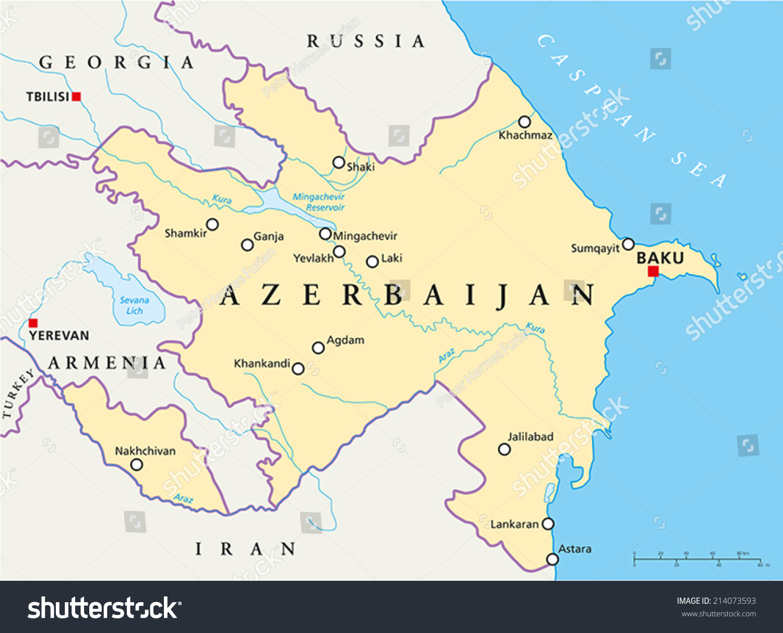 Azerbaijan: cities. Capital and major cities of Azerbaijan 65