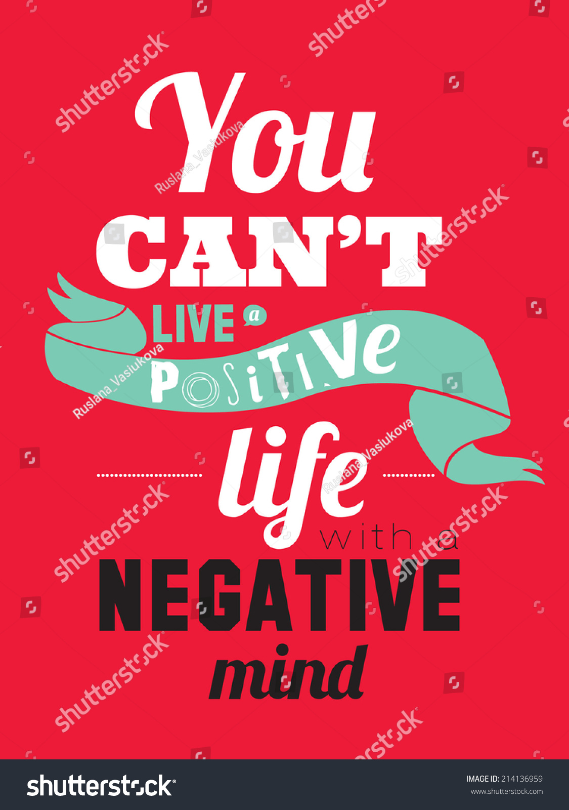 Poster Quotes About Life Set Unusual Inspirational Motivational Quotes Posters Stock Vector