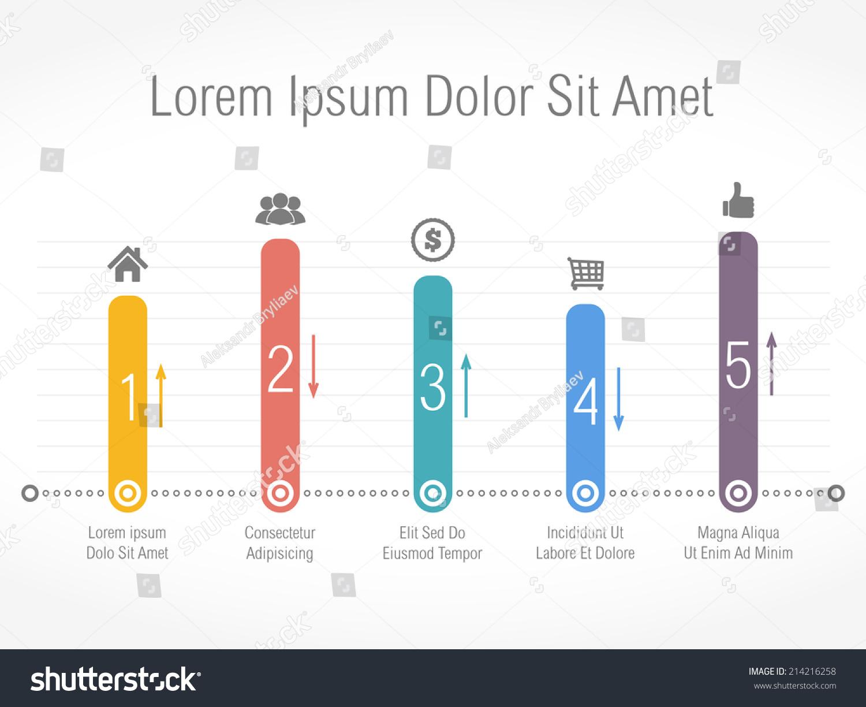 Bar Chart Design Template Vector Eps10 Vector 214216258 – Bar Chart Template