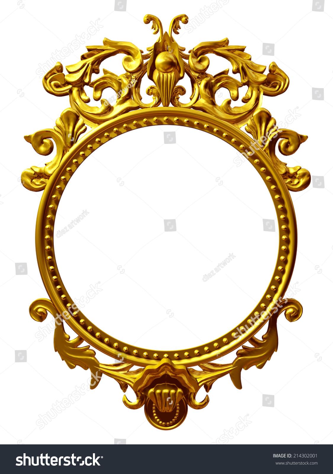 Vintage Picture Frame Vector Stock Images RoyaltyFree