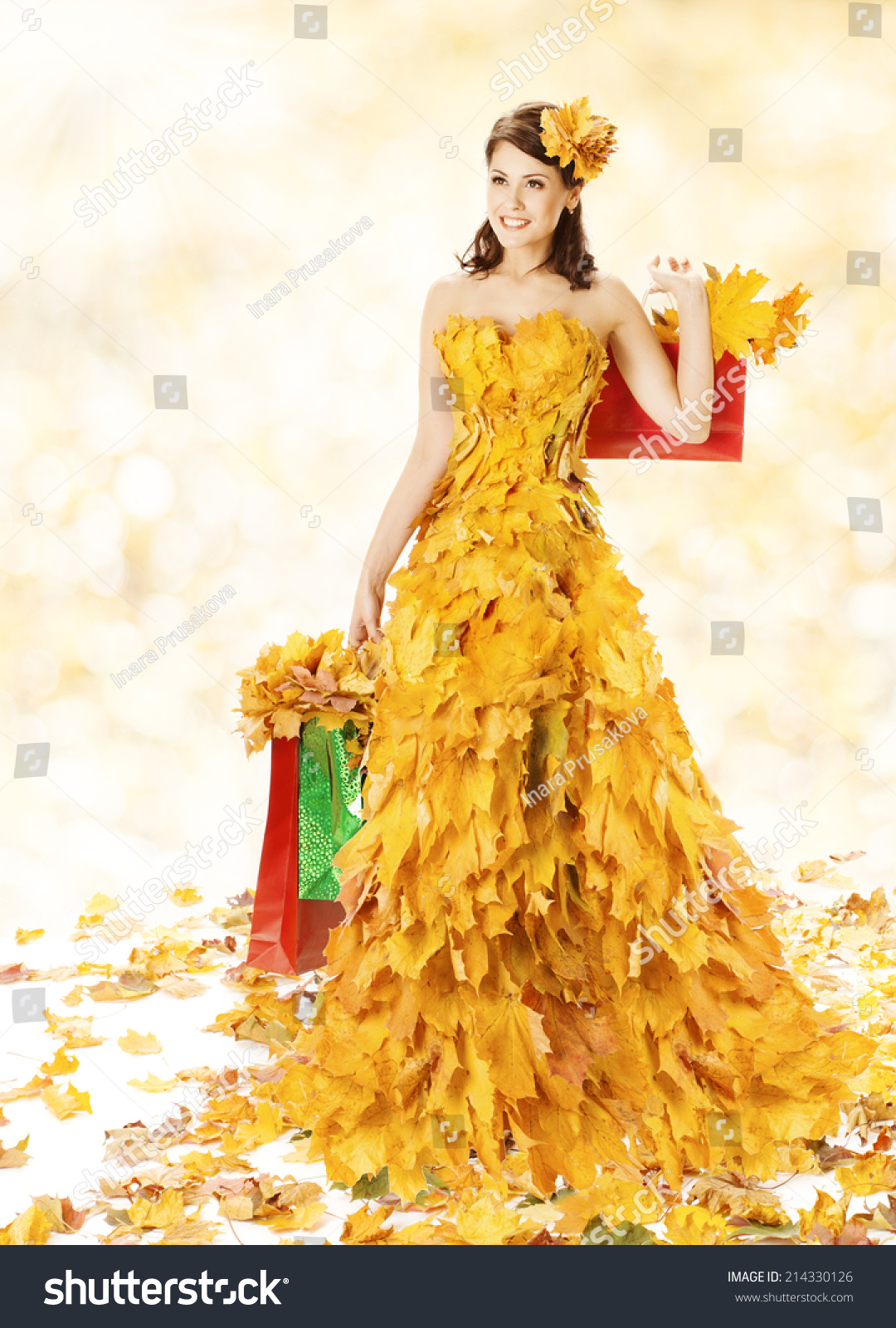 Платья Осень