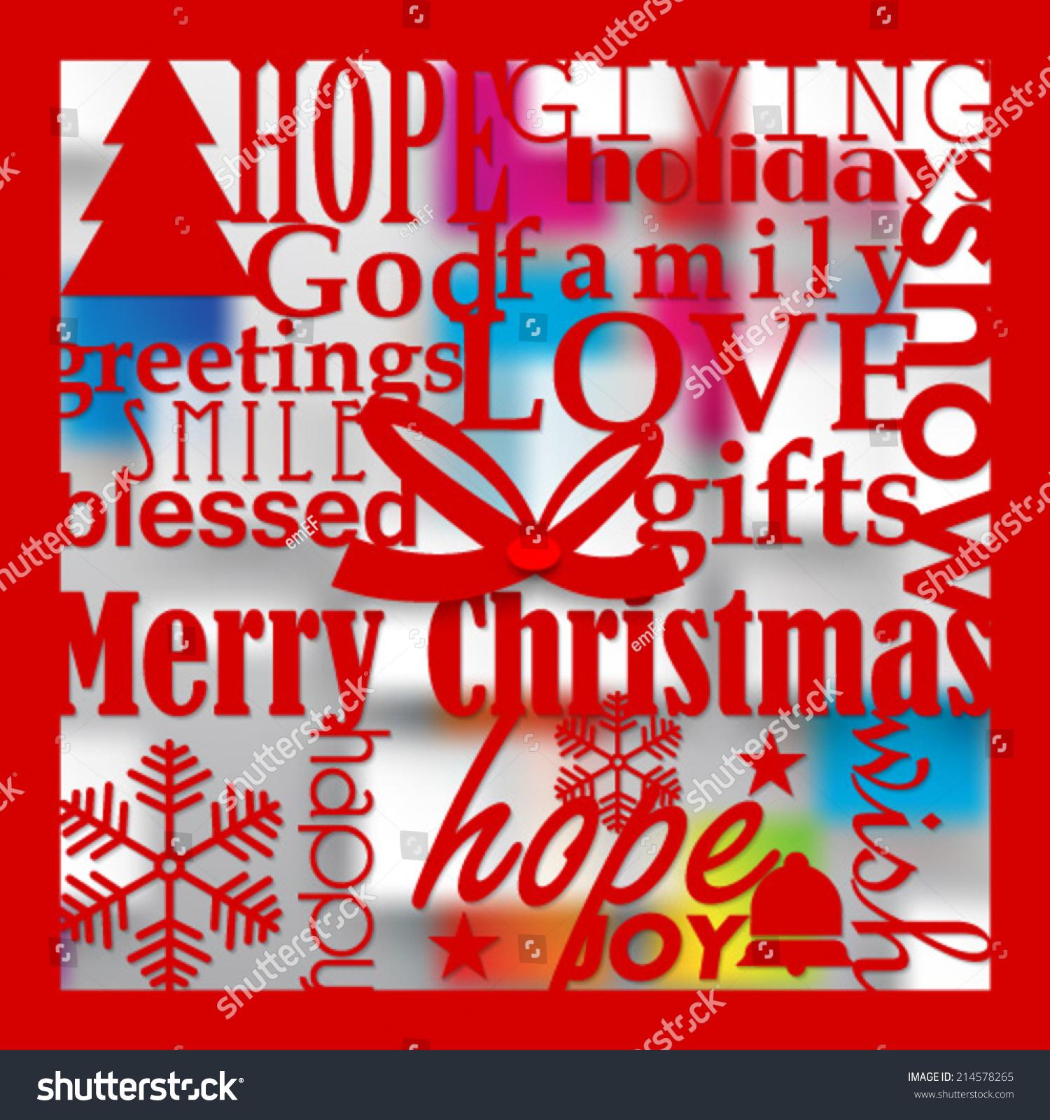 New Christmas Paper Cutout Design Vector Background Ez Canvas