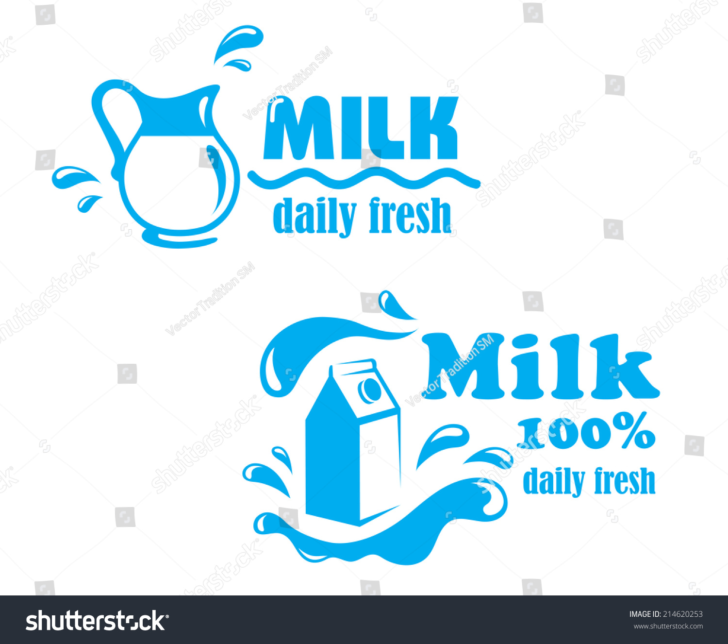 Fresh farming milk emblem logo symbol stock vector 214620253 fresh farming milk emblem or logo symbol with jug package and text milk 100 percent buycottarizona Image collections