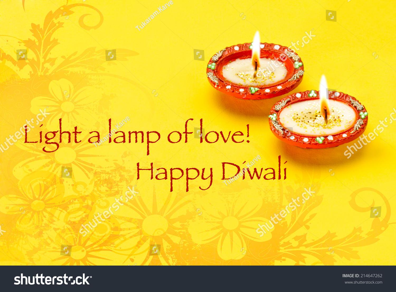Greetings Card Design Indian Hindu Light Stock Photo Edit Now