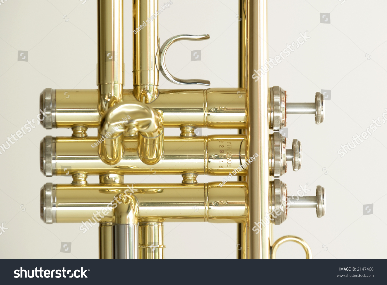 Detail of trumpet closeup | EZ Canvas